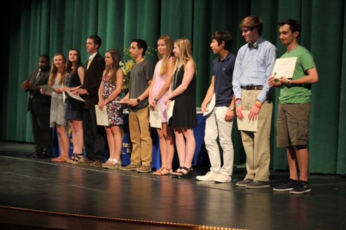 THS Senior Awards Day