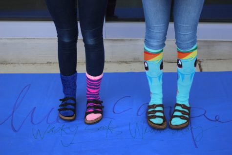 Wacky Sock Wednesday – Homecoming Week