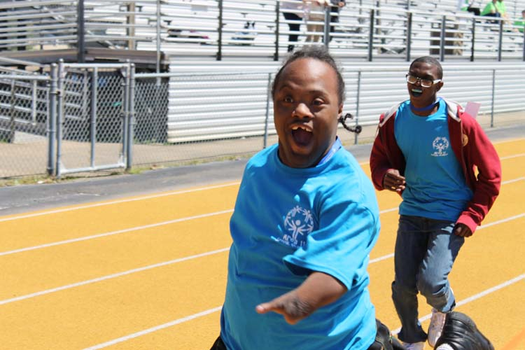 Special Olympics held at Tupelo High School