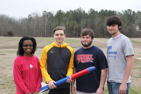 THS rocket team has a blast