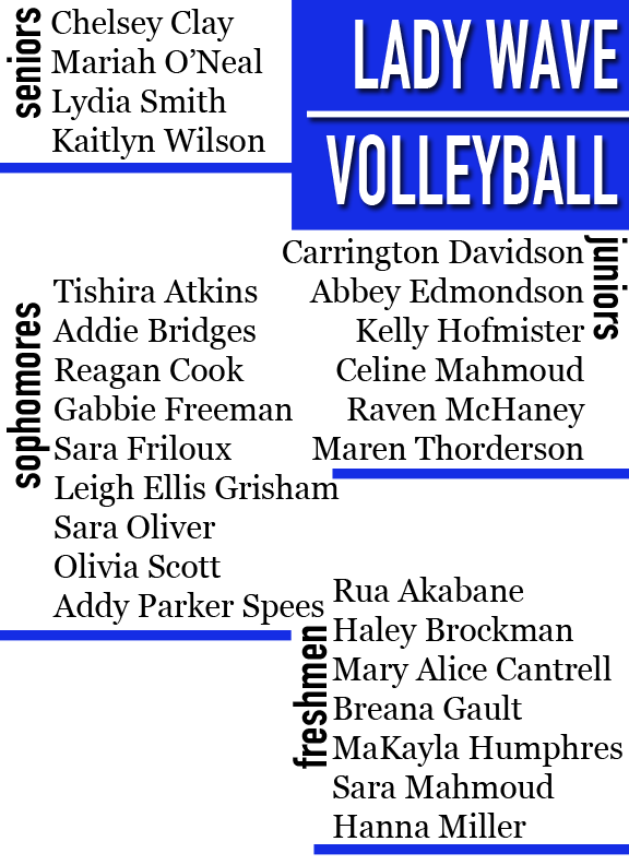 volleyball roster