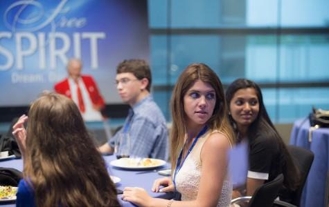 Caiti Ellis takes trip to Al Neuharth Free Spirit and Journalism Conference