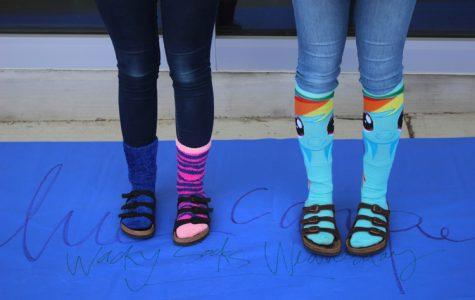 Wacky Sock Wednesday – Homecoming Week