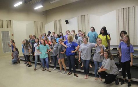 Synergy Show Choir  Practice 9.13.15