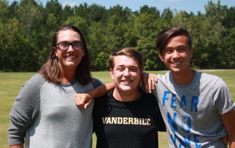 From left to right; JD Dunklee, Kyle Woodward, and Mason Keopradit turned their goals into an exciting reality.