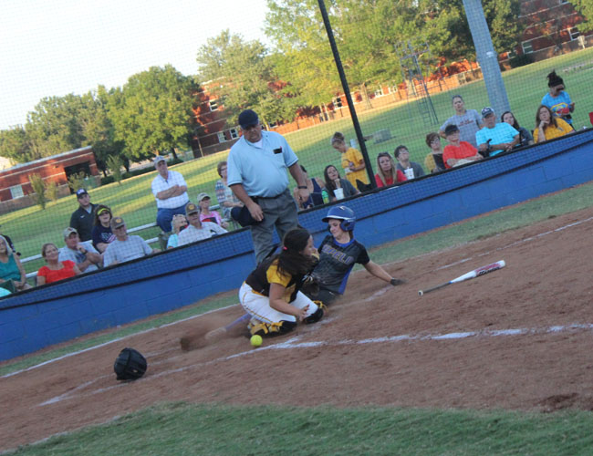 Lady Wave Softball v. East Union 8/24/17