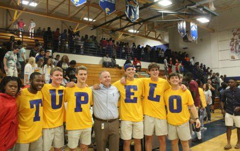 Tupelo Boys with Principal Dobbs