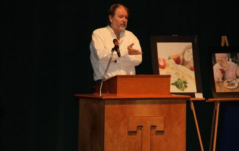 Pulitzer Prize winning Author Rick Bragg visits Tupelo High School as part of the Tupelo Reads Program