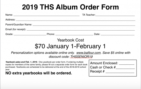 2019 Yearbook Sales
