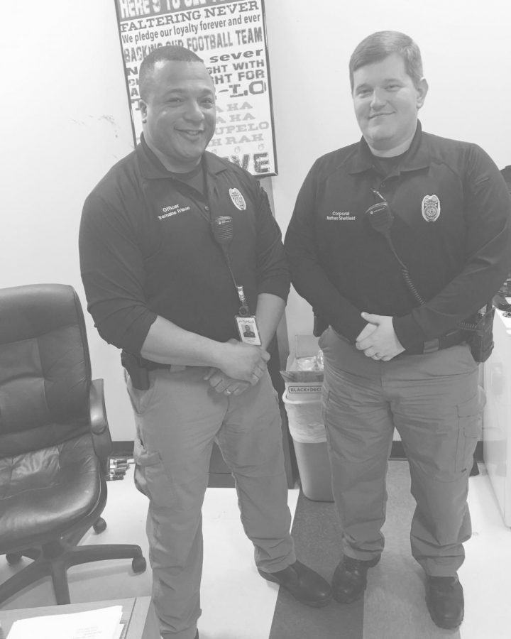 Tupelo police officers keep our campus safe