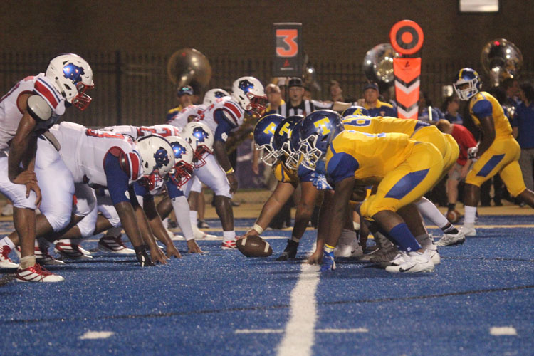 Tupelo and Neshoba Central face off in intense game.