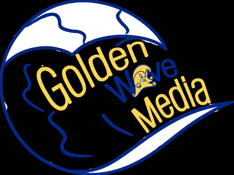 Golden Wave Media Logo color