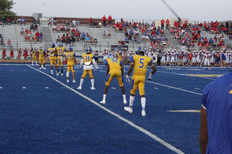 Tupelo line up of kickoff