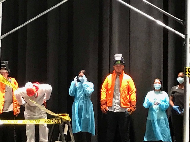 CTE PPE fashion show