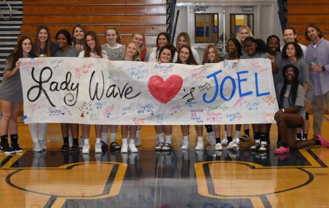 Volleyball leads the charge to help Trainer Joel Kennedy raise money for Cancer treatment.