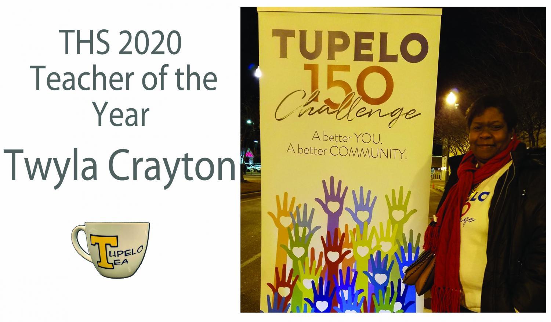 Teacher of the Year Twyla Crayton