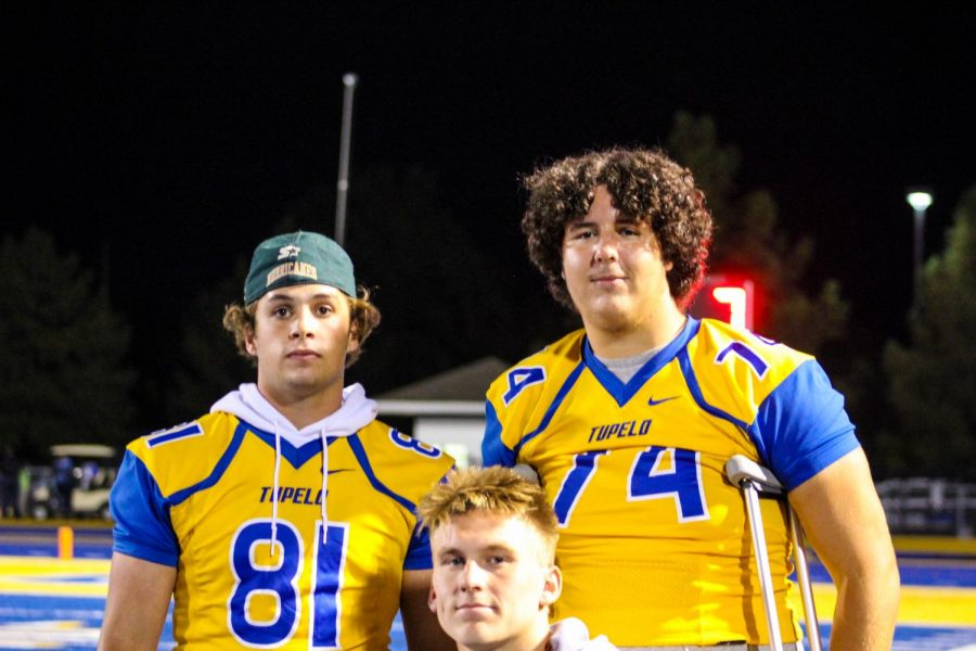 Mason Winders, Gentry Turner, and Dalton Hughes