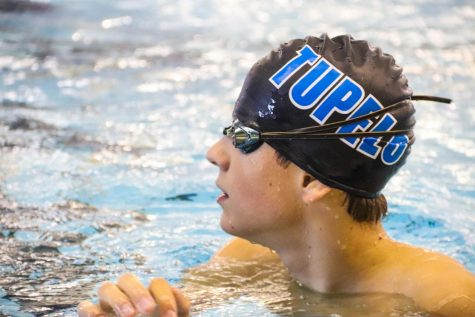 Teodor Pech - North half swim meet in Tupelo - October 17, 2020