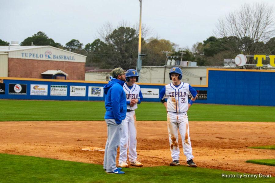 Coach Davis, Chase Ballard, Garret Enis