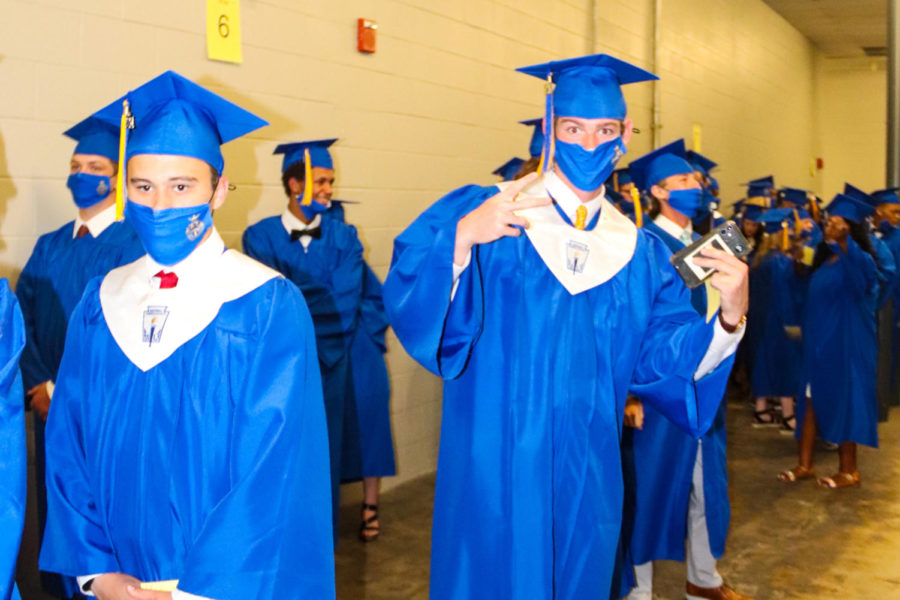 Tupelo High School Class of 2021 Graduation at BancorpSouth Arena, May 21, 2021