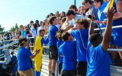 Tupelo High Students Show School Spirit At Pep Rally